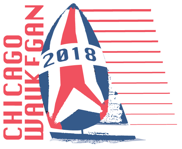 Logo for the 2018 Chicago-Waukegan race