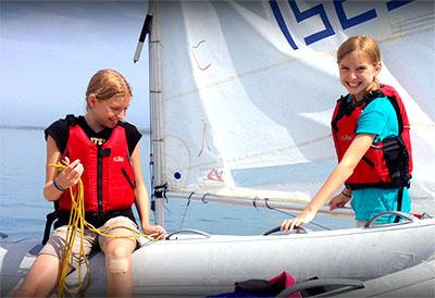 Junior Sail program at WYC