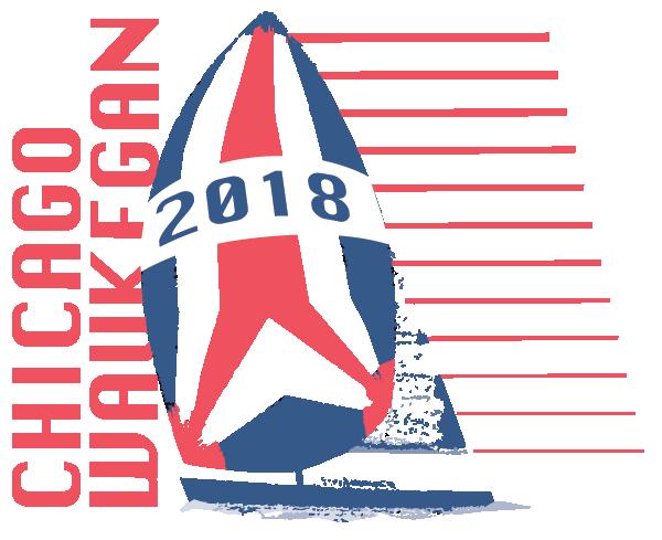 Logo for the 2018 Chicago-Waukegan race