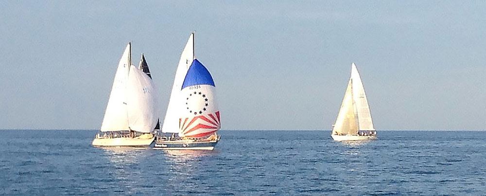 Wednesday night sailboat racing