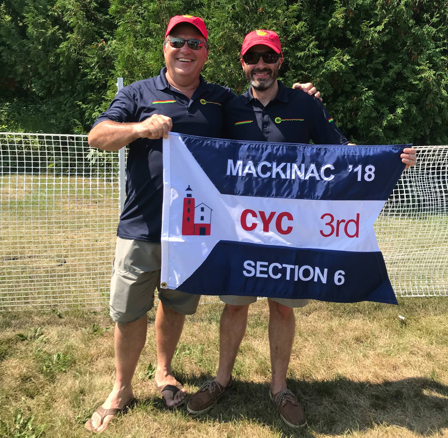 3rd place flag for spitfire in Mac Race