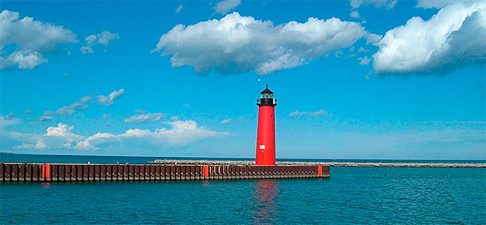 Kenosha Harbor lighthouse