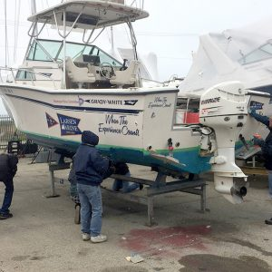 maintaining the WYC Committee boat