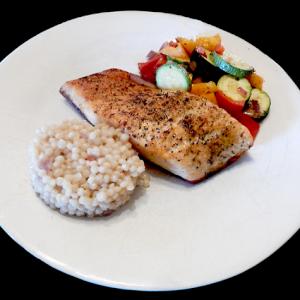 Premium Salmon dinner
