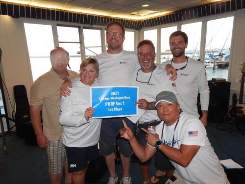 2021 PHRF Section 1 1st Place